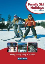 Family-Friendy skiing in Norway Winter 2009/10 - Em-Online
