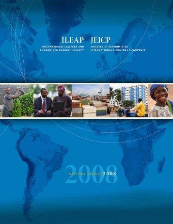 2008 - Rapport Annuel - ILEAP