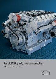 Industrie und Sonderfahrzeugmotoren