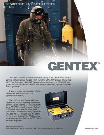 Product Datasheet - Gentex Corporation