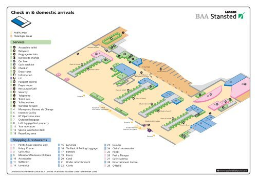 Find terminal facilities on a stansted airport map pdf - Planning and design of airports pdf ...