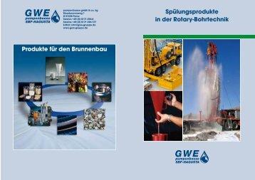 Spülungsprodukte in der Rotary-Bohrtechnik Produkte für den ...