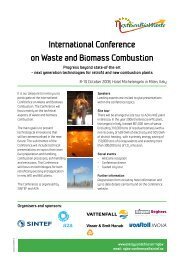 International Conference on Waste and Biomass Combustion