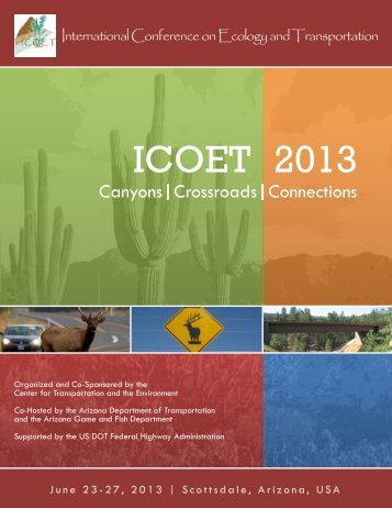 ICOET 2013 Program Booklet