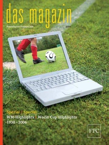 WM-Highlights | World Cup Highlights 1930 - Frankfurter Presse Club