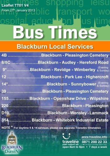 Blackburn Local Services - Lancashire County Council