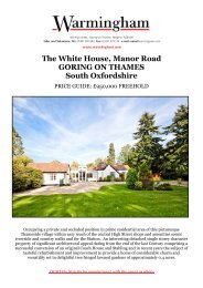The White House, Manor Road GORING ON ... - Warmingham