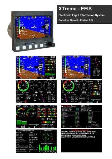 XTreme EFIS - STRATOMASTER Instrumentation MGL Avionics