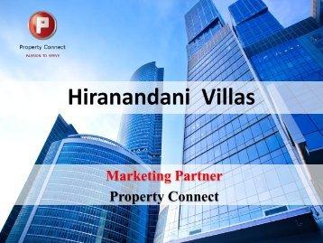 Hiranandani Villas - Property Connect Search - Propconnect.in