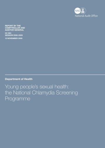 Young people's sexual health - National Audit Office