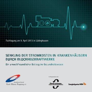 Programm und Anmeldung - Energie sparendes Krankenhaus