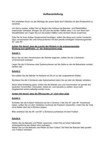 Aufbauanleitung - garten-heinemann.de