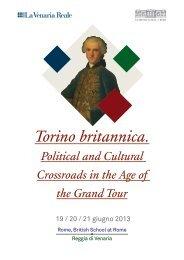 Torino britannica. - The British School at Rome