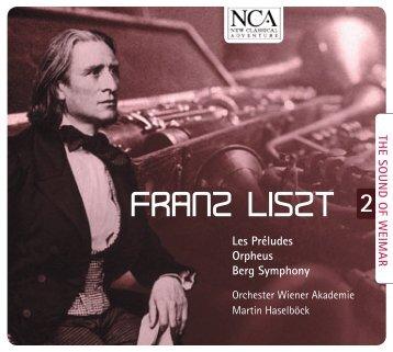 FRANZ LISZT - nca - new classical adventure