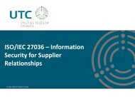 ISO/IEC 27036 – Information Security for Supplier ... - Build Security In