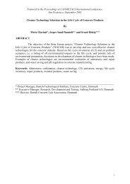 Canmet2001tescop-pdf - Danish Technological Institute