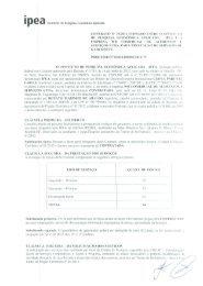WR Comercial de Alimentos e Serviços Ltda - Ipea