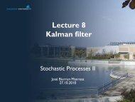 Lecture 7 – Kalman filter
