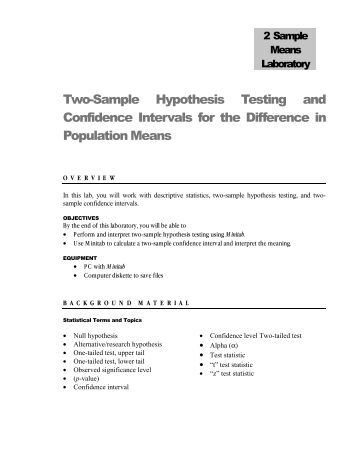 confidence intervals 2 essay Confidence intervals essay (x-x) square / n-1 =290 respectively now to generate a 95% confidence interval for the true mean total cholesterol levels in children from data collected, we used the z value for 95% as a custom essay sample on confidence intervals.