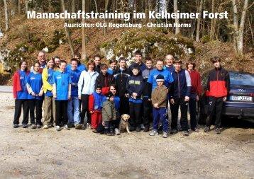 Mannschaftstraining Kelheimer Forst - orientierungslauf.net
