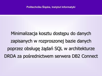 1 - Politechnika Śląska