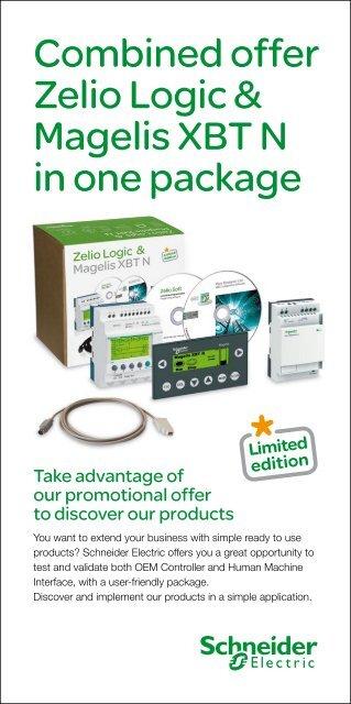 Combined offer Zelio Logic & Magelis XBT N in