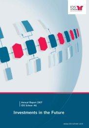 Annual Report 2007 - IDS Scheer AG