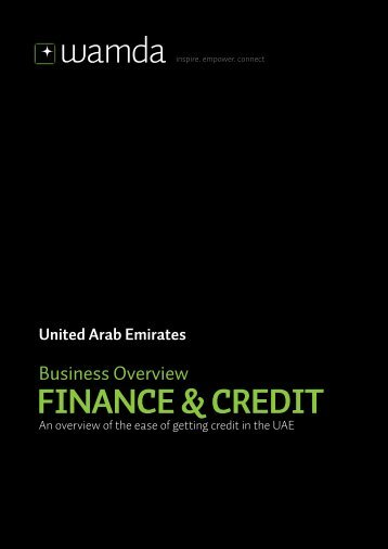 FINANCE & CREDIT - Wamda.com