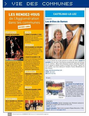 VIE DES COMMUNES - Montpellier Agglomération