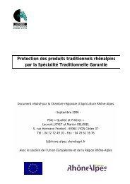 CNA - Chambres d'Agriculture de Rhône-Alpes
