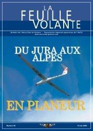 DU JURA AUX ALPES - Aeroclub de Genève