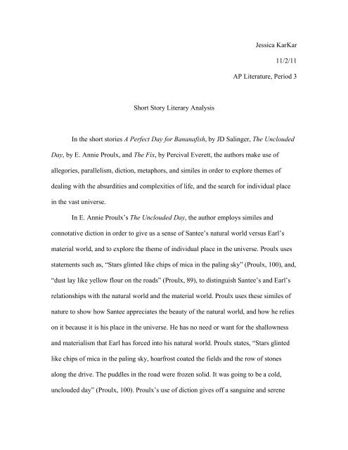 Apa Essay Papers  Sample Proposal Essay also College Vs High School Essay Compare And Contrast Short Story Essay  Gender Equality Essay Paper