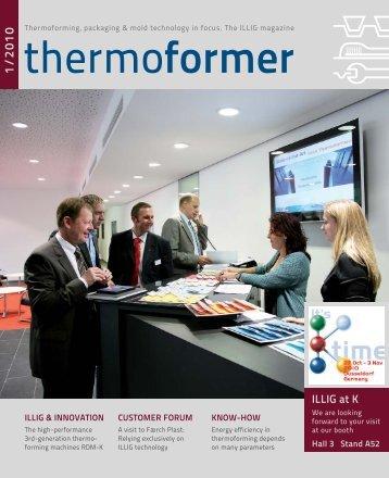 Thermoforming - ILLIG Maschinenbau GmbH & Co. KG