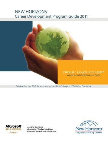 New Horizons 2011 Career Development Program Guide
