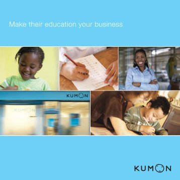 Make their education your business