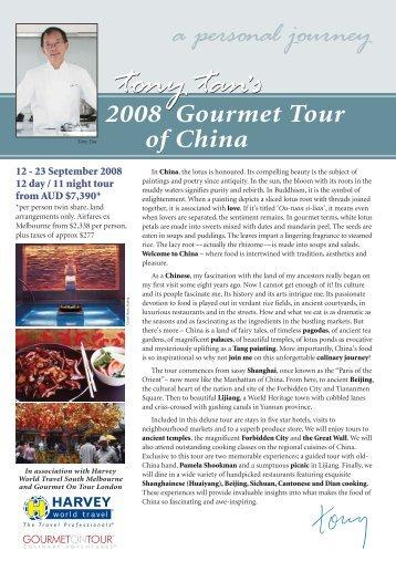 a personal journey - Tony Tan