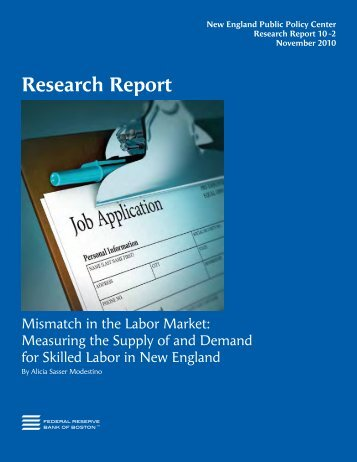 Report - New England Board of Higher Education