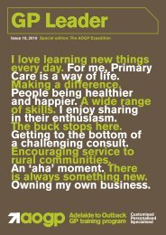 I love learning new things every day. For me, Primary Care is a way ...