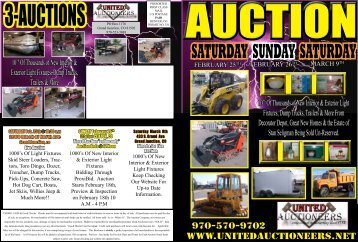 Auction 2-25 - United Auctioneers