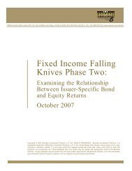 Fixed Income Falling Knives Phase Two - Brandes Investment ...