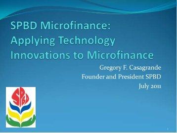 SPBD Microfinance - Microfinance Pasifika