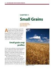 Small Grains - Organic Risk Management - University of Minnesota