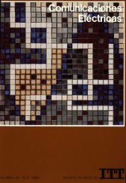 REVISTA TECNlCA DE 1985 OLUMEN 59 N° 3 - Archivo Digital del ...