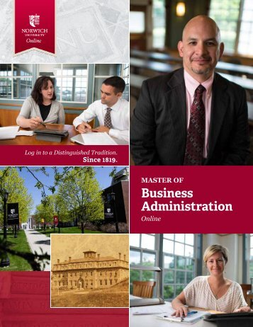 to download the brochure - Norwich University