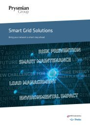 Smart Grid Solutions - Prysmian Group
