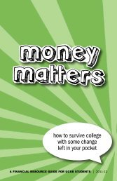 Money - UCSB Division of Student Affairs - University of California ...