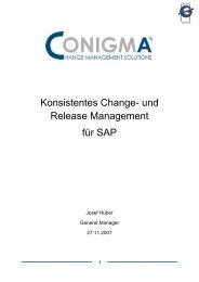 und Release Management für SAP - Galileo Group AG