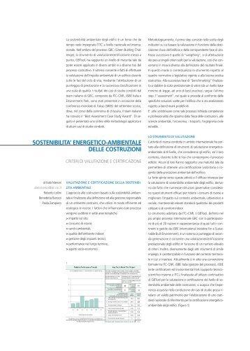 criteri di valutazione e certificazione - ITC cnr