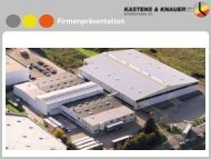 KuK Präsentation 2011 - Kastens & Knauer GmbH & Co ...