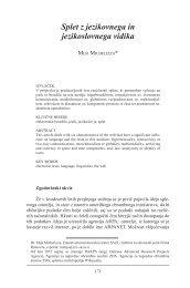 HS 10 - Mija Michelizza: Splet z jezikovnega in jezikoslovnega vidika